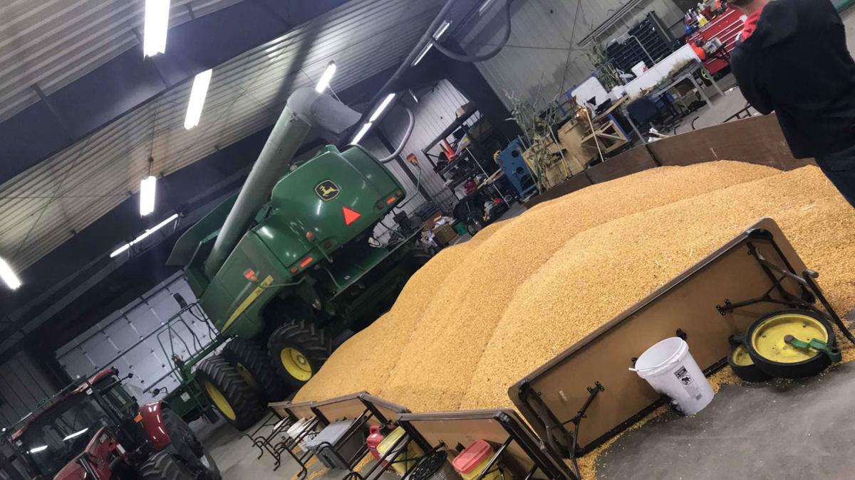 corn on shop floor