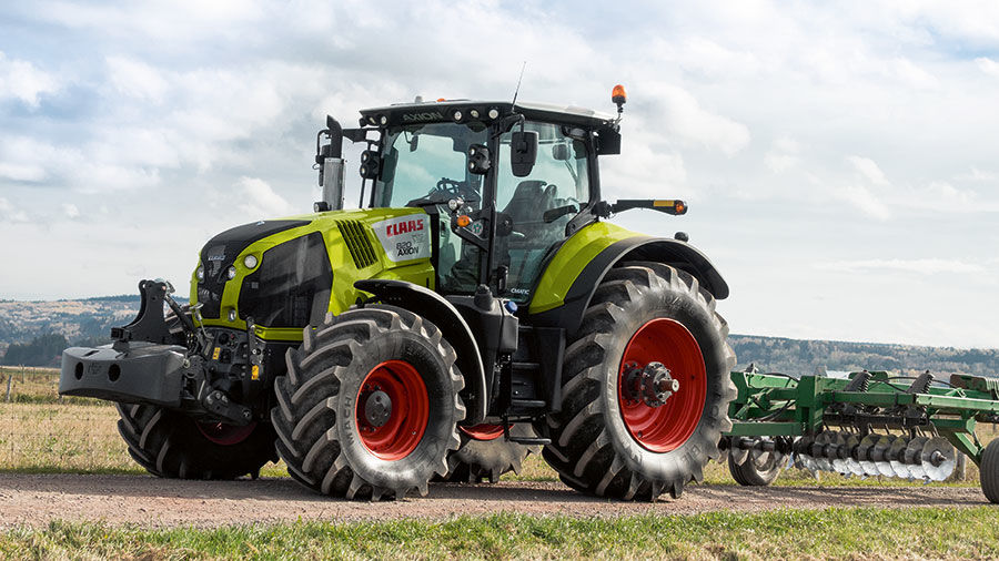 CLAAS of America tractor