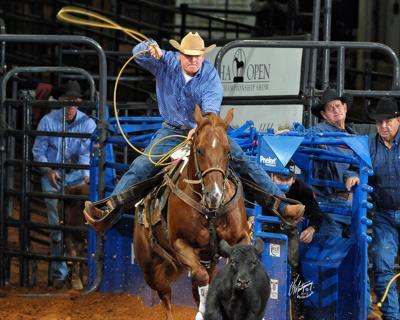 Jim Bound roping