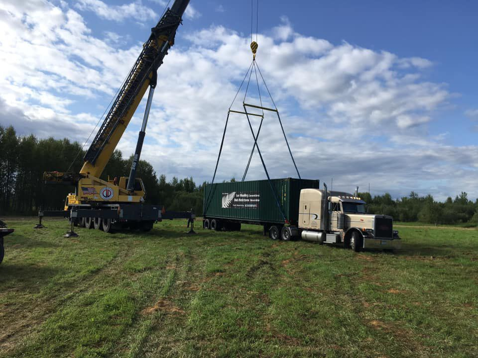 Plough arrives in Baudette, Minn., for World Ploughing Contest