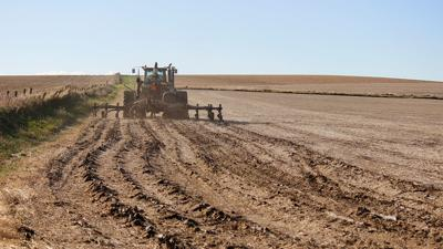 Manure applied in the spring
