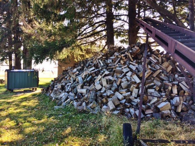 Michael Clements woodpile