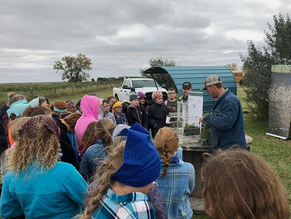 Farm tours begin at West River cattle ranch