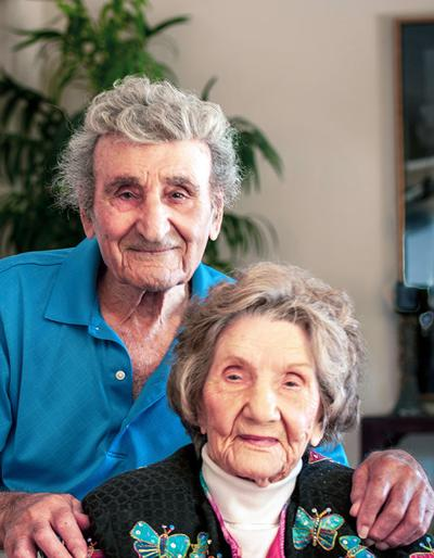 The longest living married couple in the United States Ralph and Dorothy Kohler