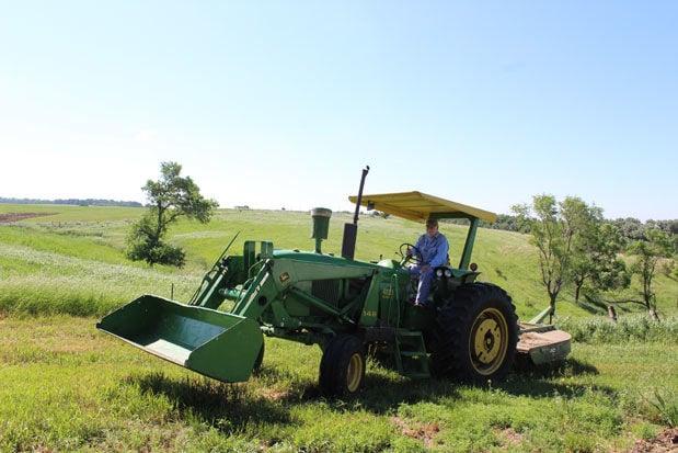 John Gill tractor