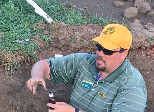 Soil pits