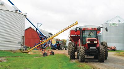Unload grain bn