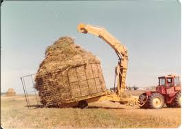 Haybuster stacker
