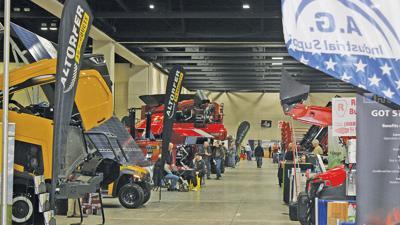 Farm show floor view