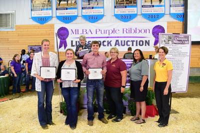2019 4-H Purple Ribbon Auction Scholarship Winners