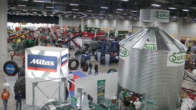 Iowa Power Farm Show exhibit