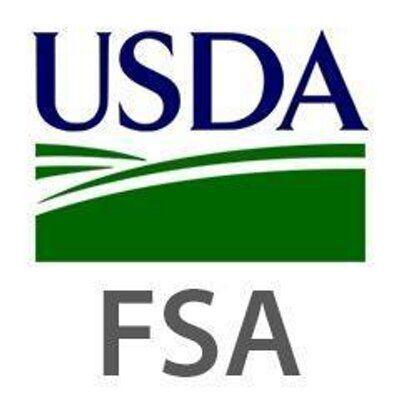 U.S. Department of Agriculture Farm Service Agency logo