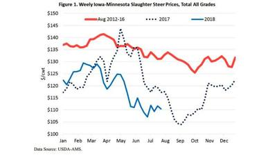 Cattle Inventory chart