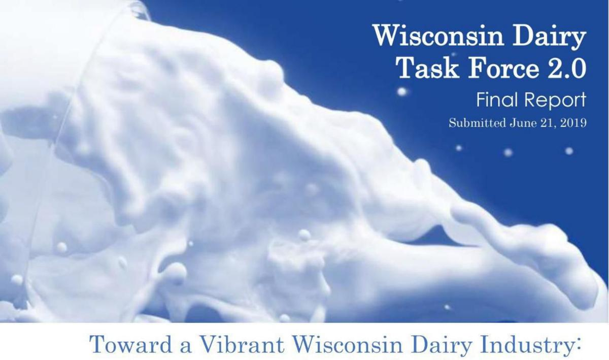 Toward a Vibrant Wisconsin Dairy Industry cover
