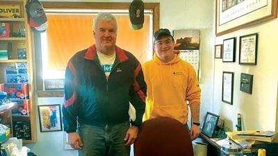Dan (left) and Brian Voss