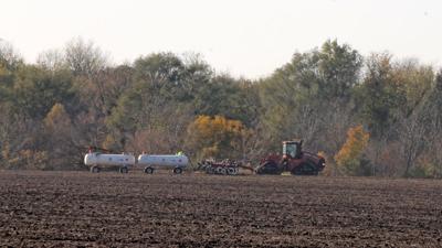 Fall field work