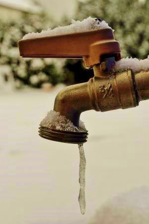 Faucet freezes