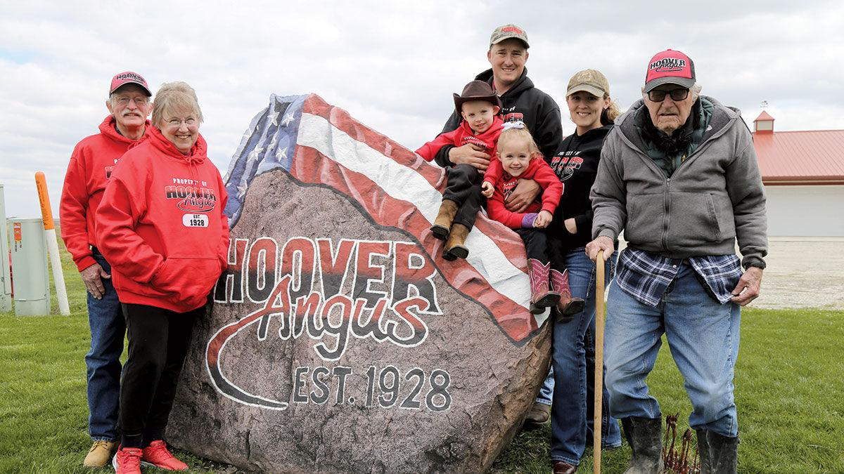 Hoover Angus boasts four generations