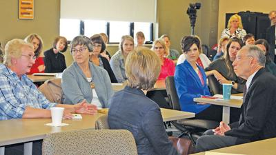 Women in Ag town hall meeting