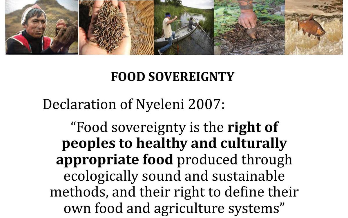 Food Sovereignty declared in 2007