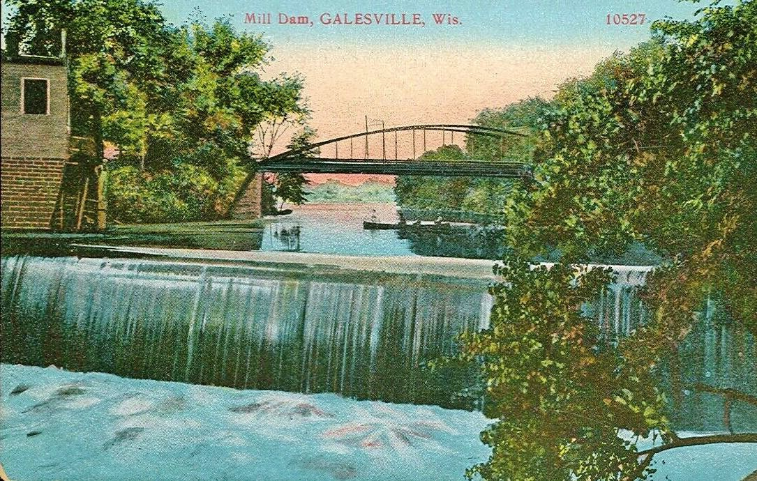Galesville mill dam