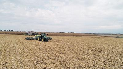 Cover crop planting
