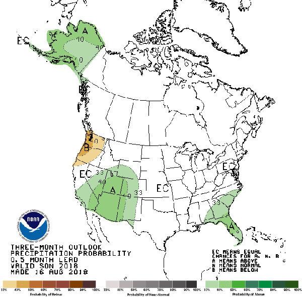 Experts target El Niño event for fall