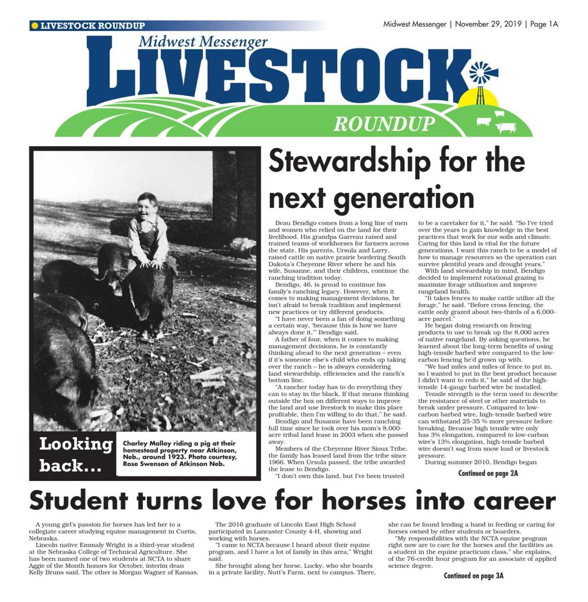 Livestock Roundup 11/29/19