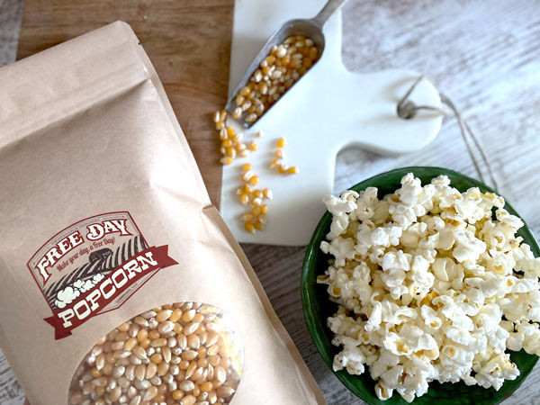 Popcorn is king Free Day Popcorn