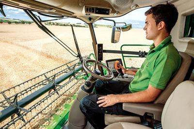 safety feature on harvesting equipment