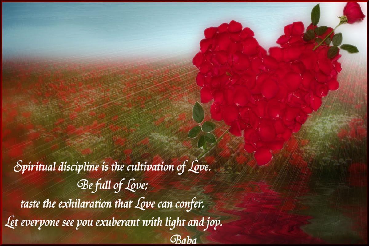 Be full of love