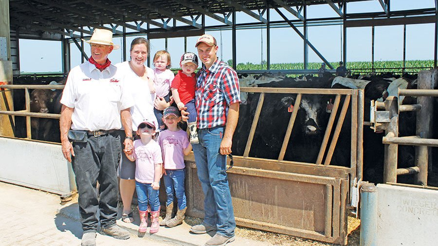 High Tower Farm cattle finishing operation