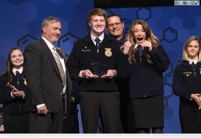 FFA'ers receive award 2019 (screen shot)