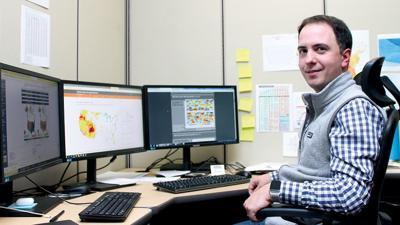 Iowa State Climatologist Justin Glisan