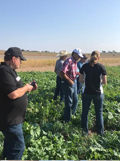 NRCS team Obermeyer farm 2017