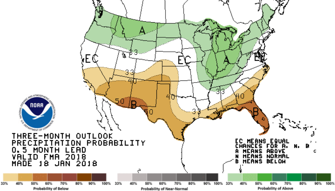 Feb-April Precip Outlook