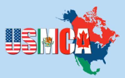 USMCA U.S.-Mexico-Canada Agreement graphic logo