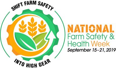 national farm safety health logo 2019