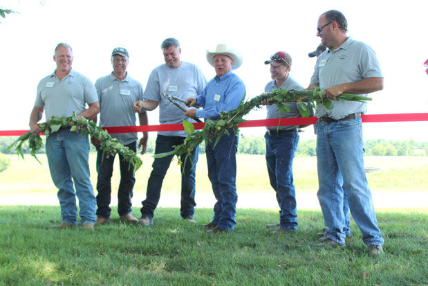 Soil Health ribbon cutting
