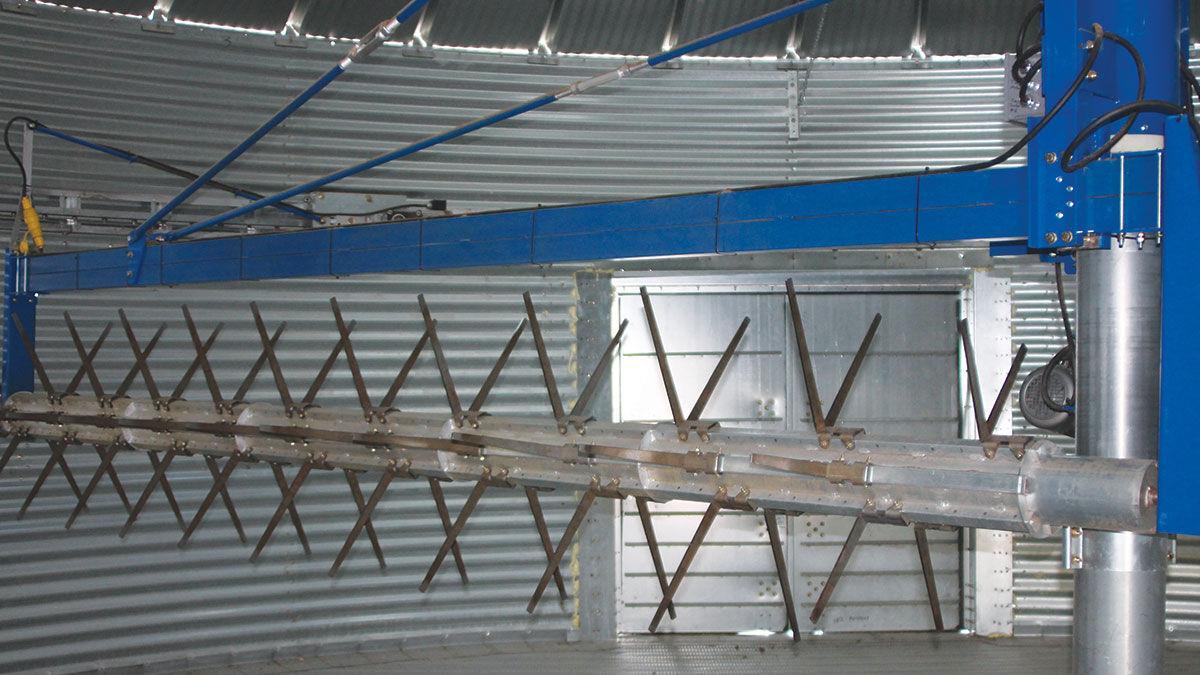 specialized hemp drying system