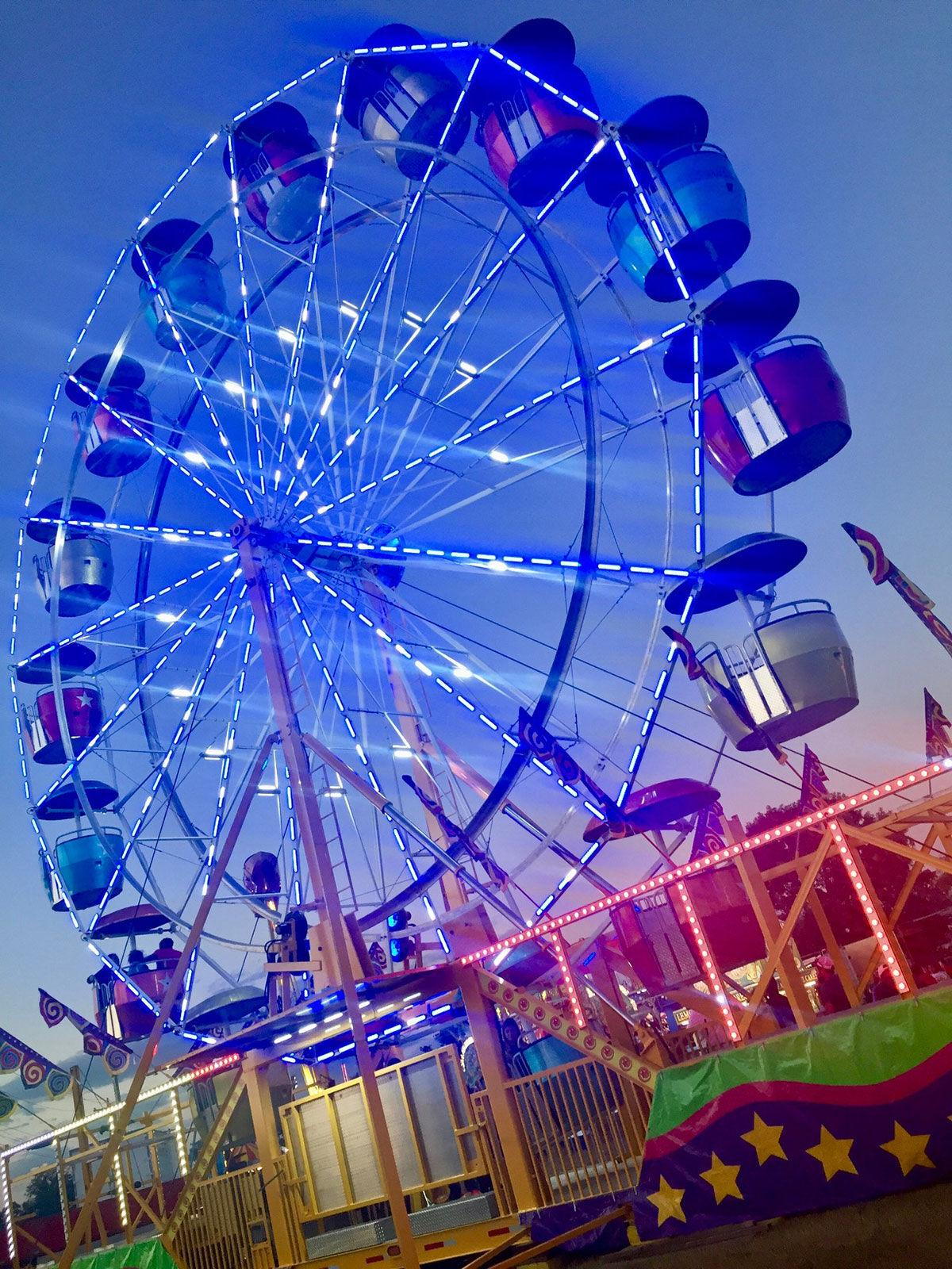 rides and games at Sikeston's five-day Cotton Carnival