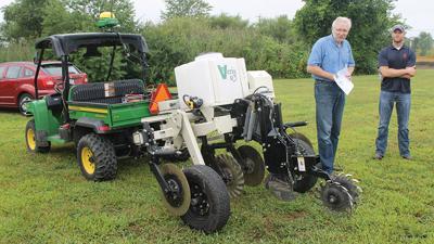 Tony Grift  soil testing technology.