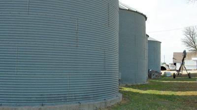 Grain bins prep