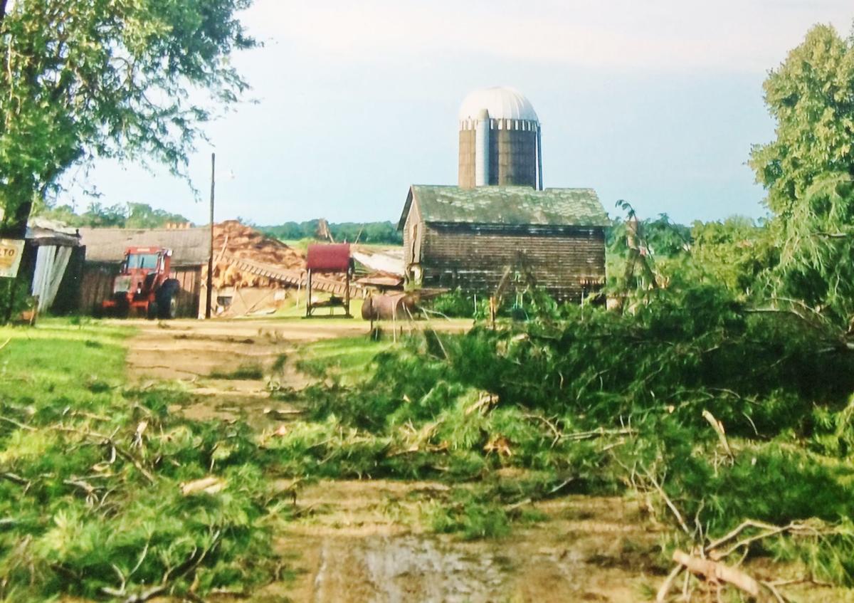 Kluetzman farm damaged