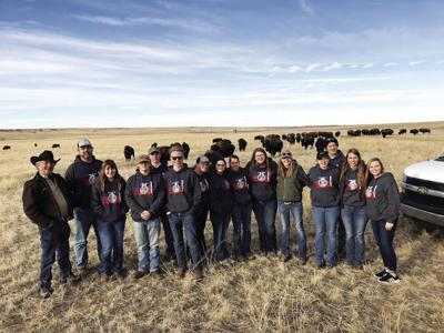 Republic County Kansas FFA tour