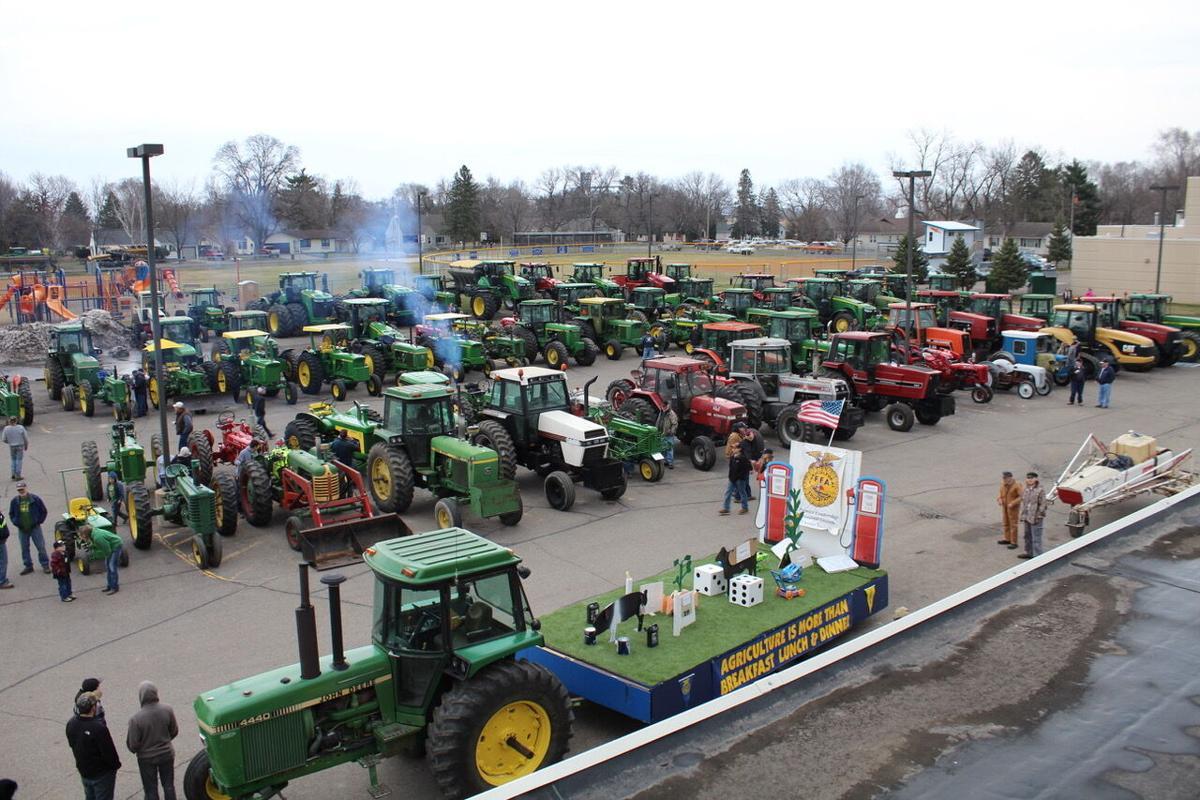 Randolph FFA Tractor Parade 2019