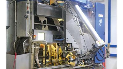robotic milker