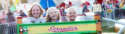 Kids at Price County Fair