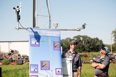 New weather station marks latest improvement in statewide system