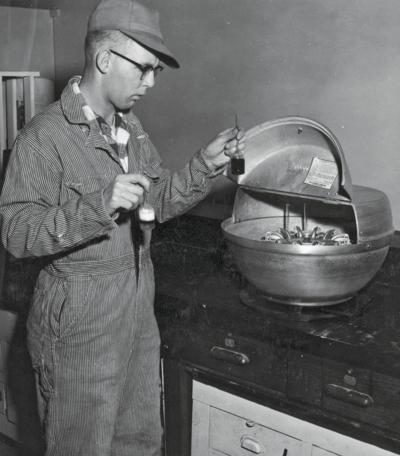 Dairy testing history